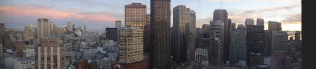 San Francisco, Blick aus dem Westin Hotel